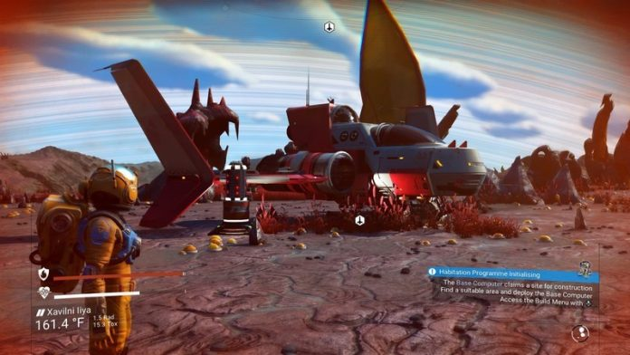 How to repair your starship in No Man's Sky
