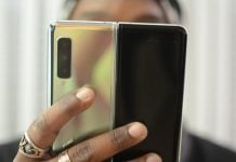 New Samsung patent shows a device with two folds and a huge display
