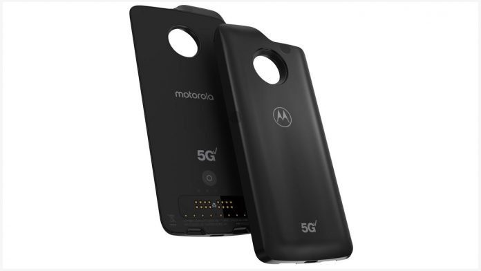 Motorola makes 5G Moto Mod faster, adds Moto Z2 Force compatibility