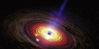 The black hole at the center of our galaxy is flaring and no one knows why