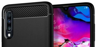 Protect the Galaxy A70's 'Glasstic' back with one of these cases