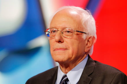 Bernie Sanders calls for a ban on police use of facial recognition