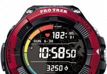 Casio debuts PRO TREK with heart rate monitor