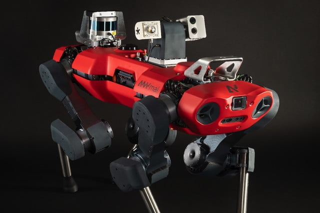 anymal c robot release with inspection head