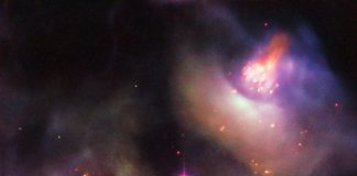 Hubble captures the glowing aftermath of the death of a star