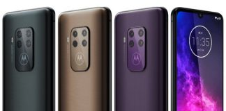 Here's another look at the upcoming Motorola One Zoom with quad cameras