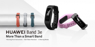 Win a Huawei Band 3e fitness tracker from AndroidGuys and Huawei!