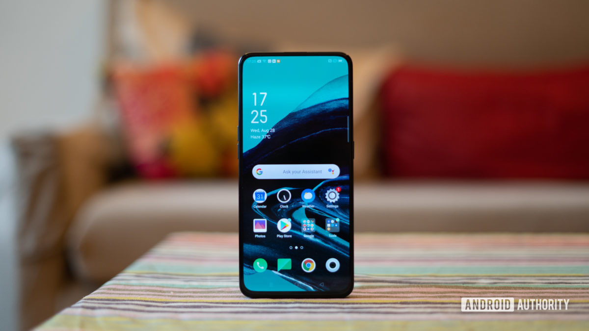 Oppo Reno 2 fullscreen display