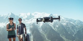 Parrot's Anafi drone now includes an FPV headset for more thrilling flights