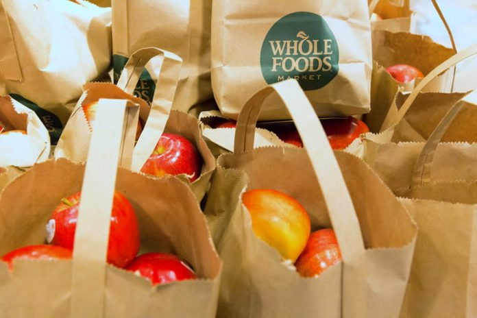 Amazon might let you pay at Whole Foods using only your hand