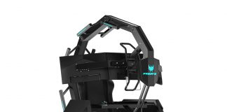 Acer introduces a (slightly) more affordable version of its epic gaming throne