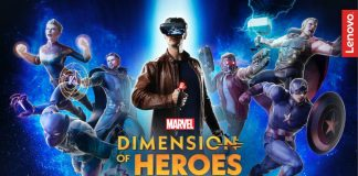 Marvel Dimension of Heroes AR Experience comes to Lenovo Mirage AR platform