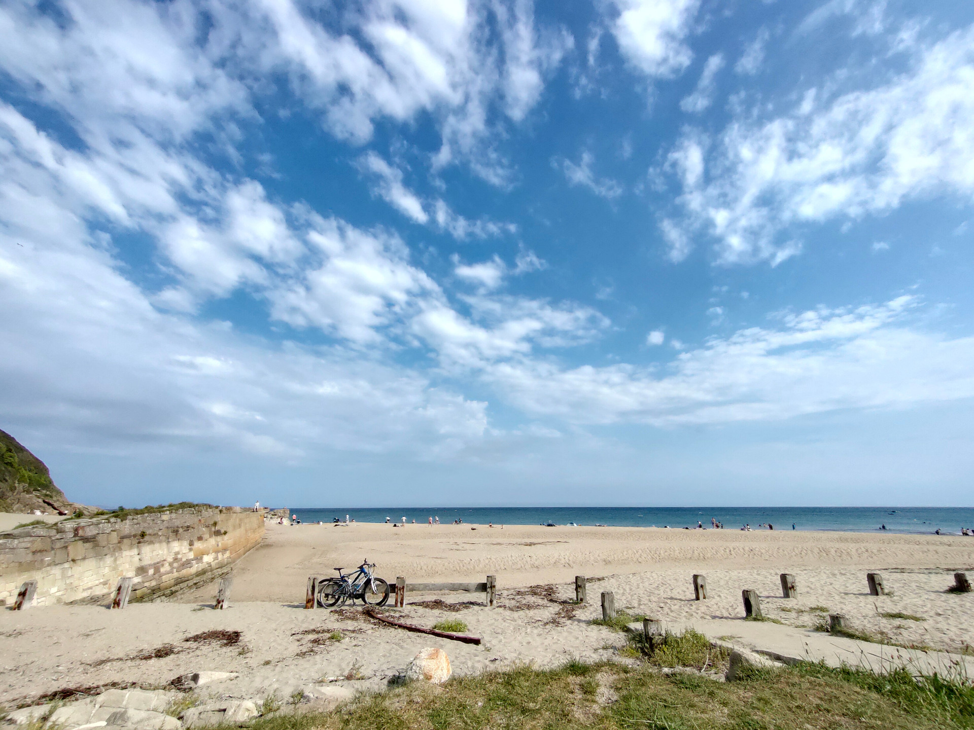 Realme 5 Pro Wide angle HDR beach