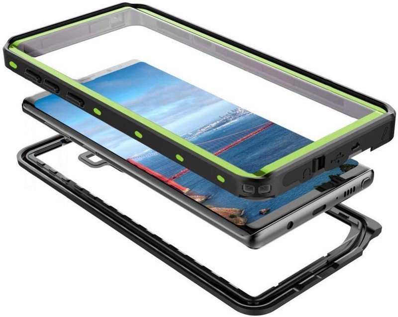 shellbox-note-9-waterproof-case-green-ex