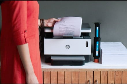 You'll never have to worry about ink again with HP's new Neverstop Laser printer