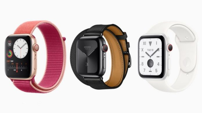 Apple Watch Series 5 Models Offer 32GB of Storage, Up From 16GB in Series 4