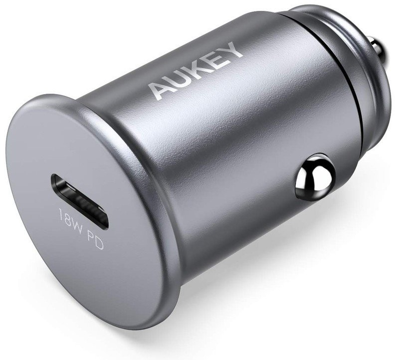 aukey-usb-c-18w-car-charger-render-silve
