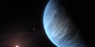 Hubble space telescope finds water vapor on 'Super-Earth' exoplanet
