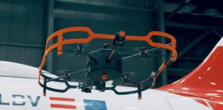 Austrian Airlines is flying a drone around its planes for a good reason