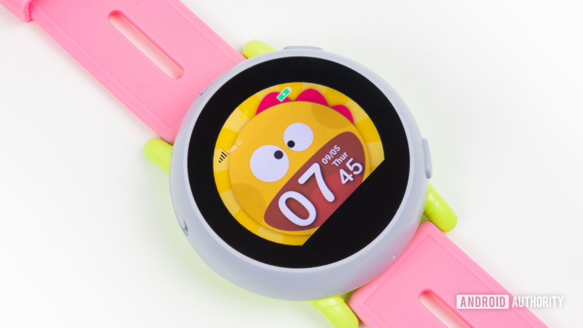 Coolpad Dyno kids smartwatch with screen on