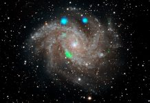 Astronomers puzzled by a flashing X-ray mystery in the Fireworks galaxy