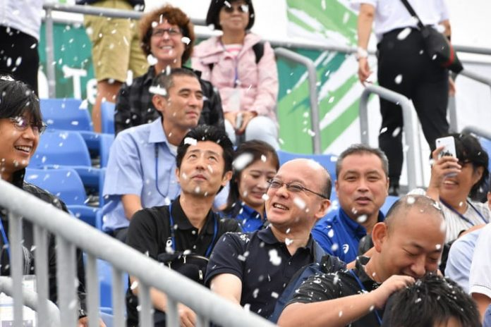 Fake snow might be used to keep spectators cool at Tokyo Olympics