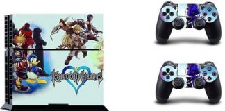 Make your PS4 unique with these awesome decals