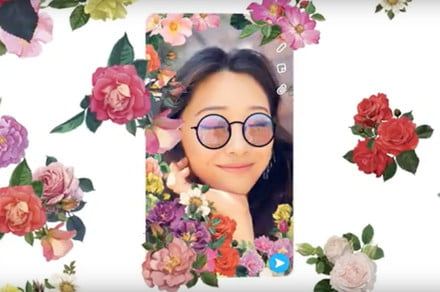 Selfies just went 3D with Snapchat's new camera mode that responds to movement