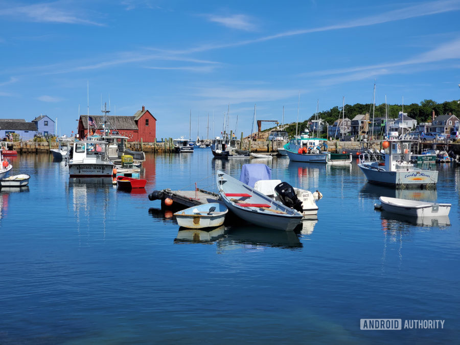Samsung Galaxy Note 10 Plus camera review daylight harbor
