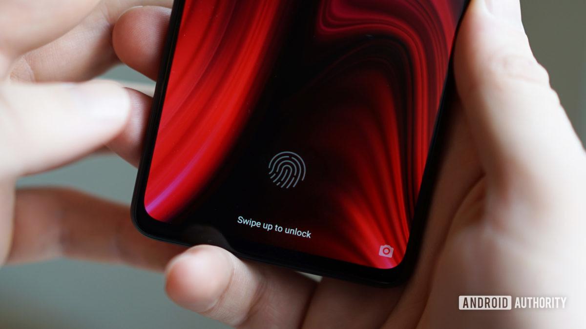 Xiaomi Mi 9T Pro in display fingerprint sensor