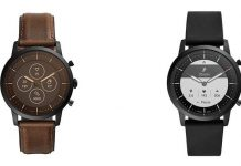 Fossil hybrid smartwatch leaks online with 2-week battery life
