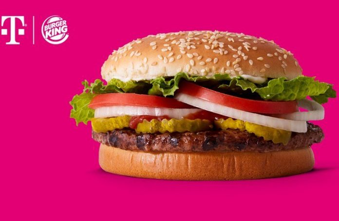 T-Mobile users can get a free Burger King Impossible Whopper next Tuesday