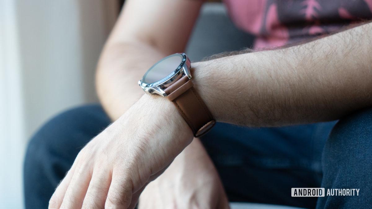 Huawei Watch GT 2 on wrist casual 2