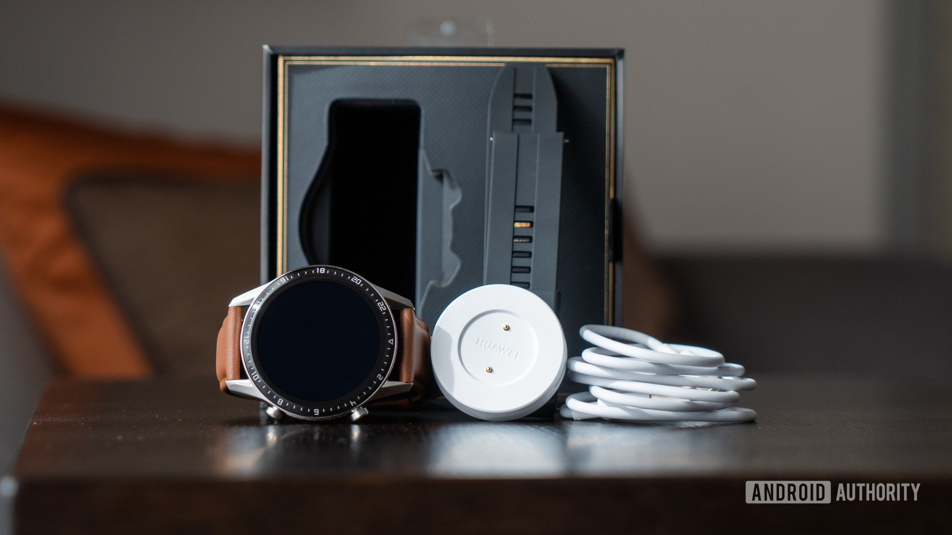 Huawei Watch GT 2 contents spilled out of box