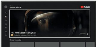 YouTube app for TVs gets mammoth auto-playing ads