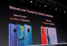 Huawei has already shipped over 17 million P30 series phones this year