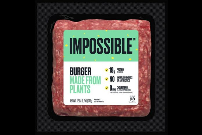 You can finally buy the Impossible Burger at grocery stores
