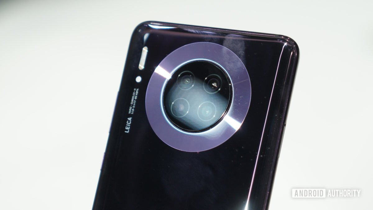 Huawei Mate 30 Pro camera detail 2