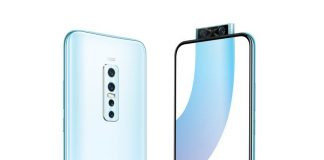 Vivo V17 Pro is the world's first phone with a dual front pop-up camera