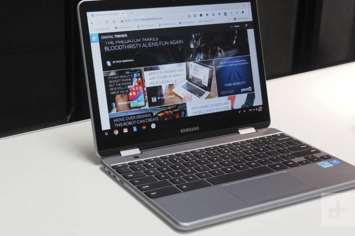 The Samsung Chromebook Plus V2 gets a $157 price cut on Amazon