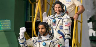 First astronaut from the UAE launches with crew to International Space Station