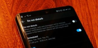 How to set up automatic Do Not Disturb rules on an Android phone