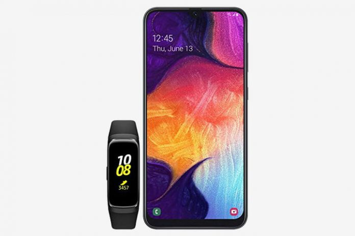 Amazon drops $111 off the Samsung Galaxy A50 with Galaxy Fit fitness tracker