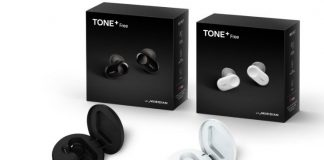 LG's first truly wireless earbuds come with a self-disinfecting case
