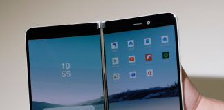 Microsoft teases Surface Duo, a folding 'phone' that runs Android
