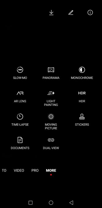 Huawei Mate 30 Pro Camera test Camera app more features