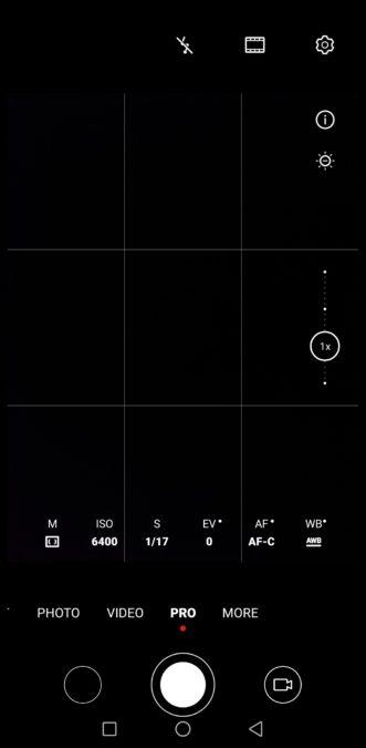 Huawei Mate 30 Pro Camera test Camera app Pro mode