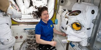 First all-female spacewalk is back on for ISS astronauts this month