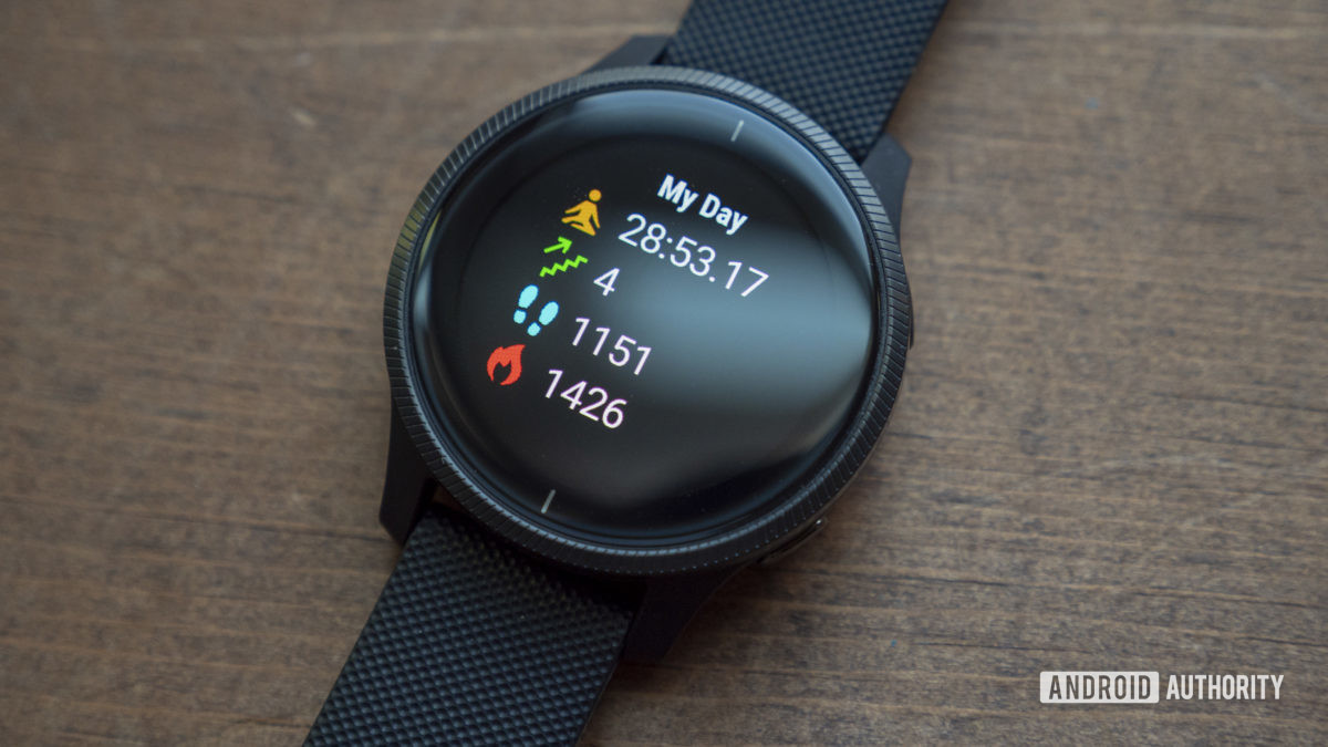 garmin venu review my day widget