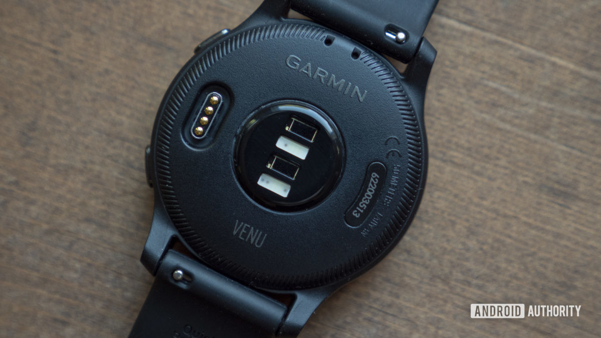 garmin venu review heart rate sensor 2